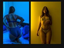 Sexy webcam show met Magnifique