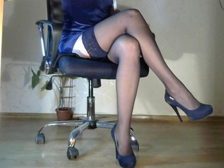 Sexy webcam show met legsoffice