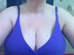 Sexy webcam show met BlondyMilf