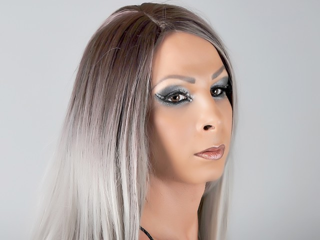Sexy webcam show met siliconboobs