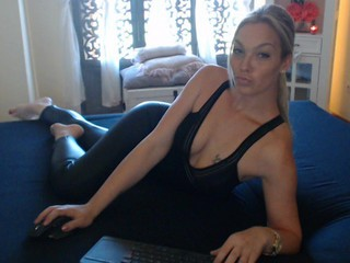 Sexy webcam show met cyberchickie