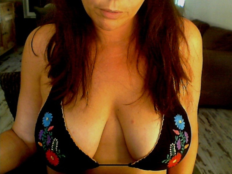 Sexy webcam show met ginger