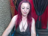 Sexy webcam show met crazyred